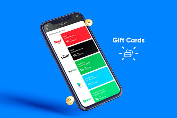 Compre Gift Cards!